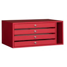 4 drawers element for Bordogna Brixia safe