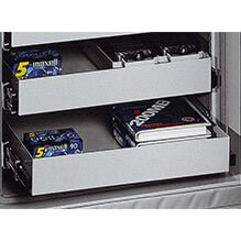 ALU Pull Out Drawers  - 445 mm Width - Gemini Pro and Libra